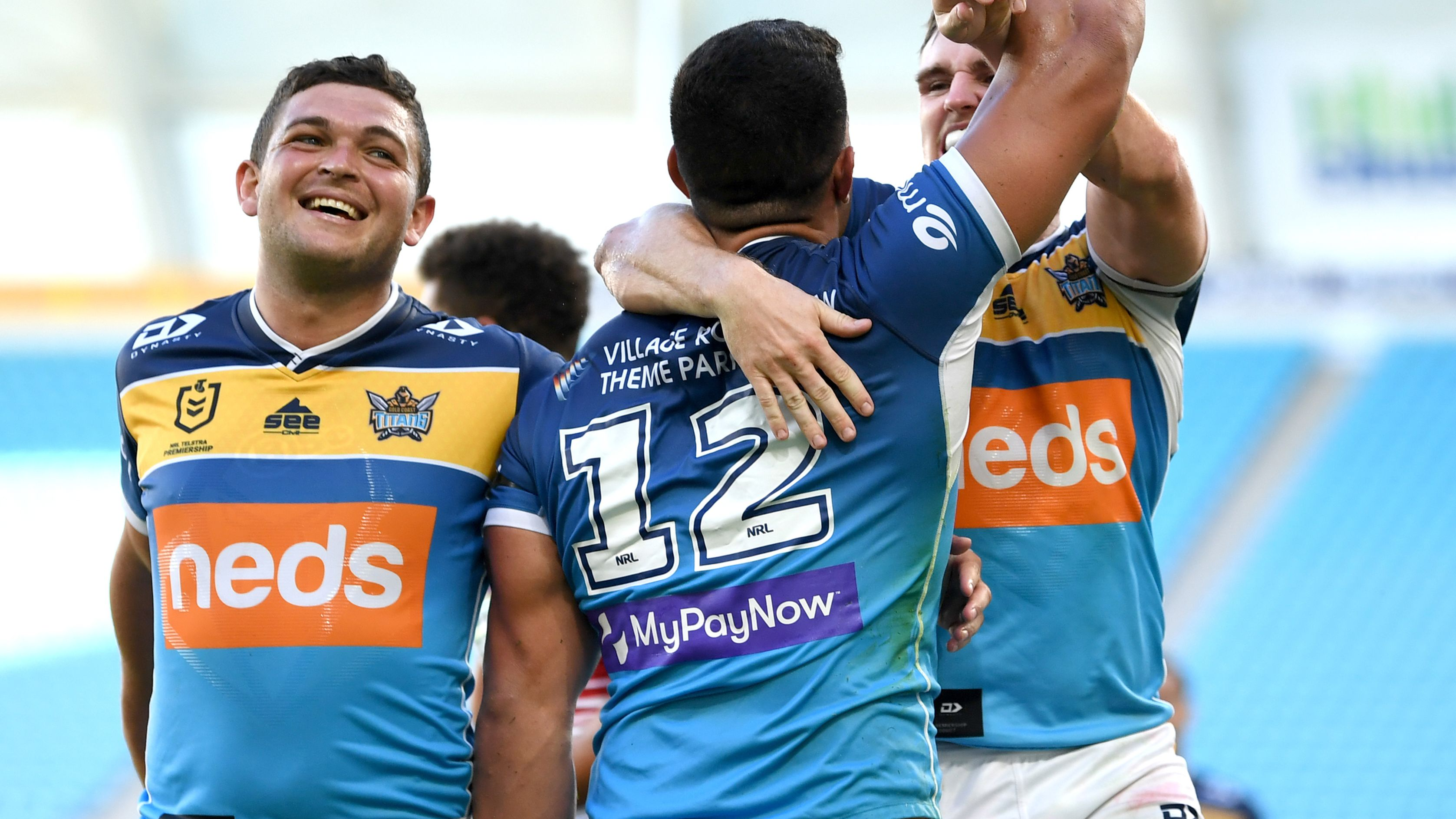'Only the beginning': Rampant David Fifita sends ominous warning to NRL rivals after hat-trick
