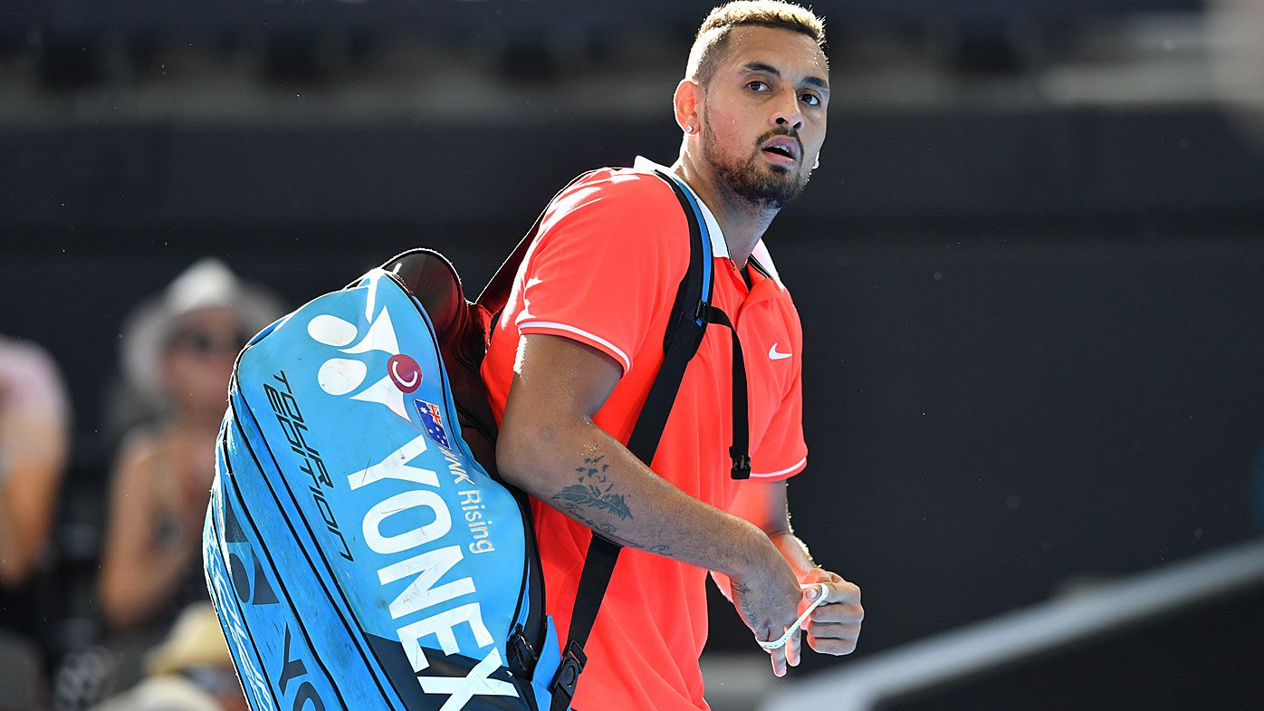 Nick Kyrgios knocked out in the second round