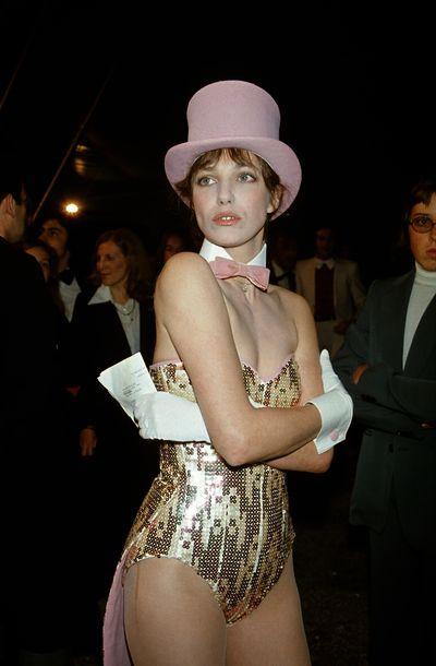 Jane Birkin at the Gala de L'Union Des Artistes, Paris, 1975.