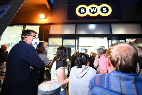 For a second day, Woolworths has allowed the elderly access to early morning shopping ahead of the general public due to panic buying as Covid-19 fears mount.