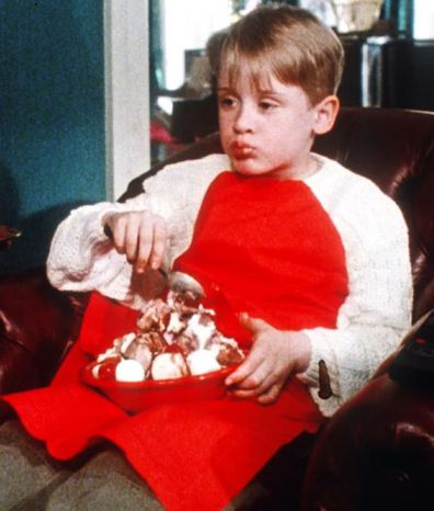 Macaulay Culkin, Home Alone, scene