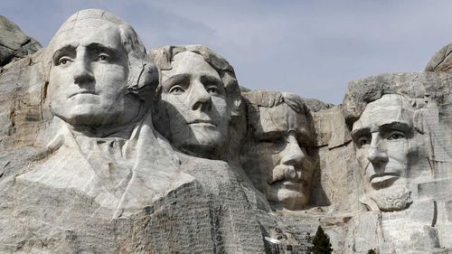 Mount Rushmore is perhaps America's best known monuments.