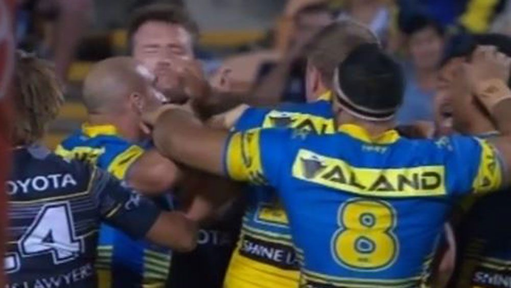Parramatta Eels forward Ken Edwards falls foul of NRL crackdown on slapping