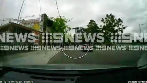 9News has exclusively obtained dashcam footage of the moment the truck veered into the wrong lane.