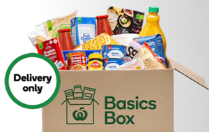 Woolworths launches new 'Basics Box' grocery delivery amid COVID-19 crisis
