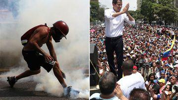 Venezuela rally