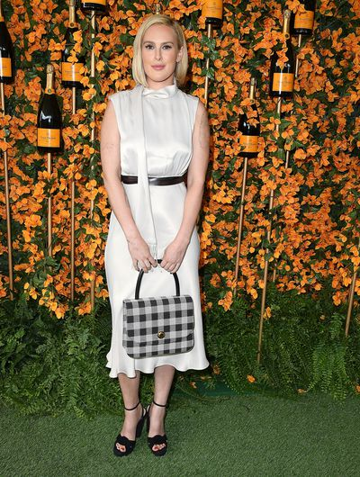 Rumer Willis arrives at the 9th Annual Veuve Clicquot Polo Classic event in Los Angeles, October 6, 2018
