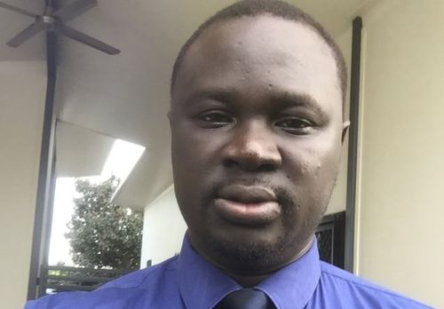 """South Sudanese community representative Maker Mayek said the """"regrettable"""" incident could be traced back to a Facebook post flagging the fight. Picture: Twitter"""