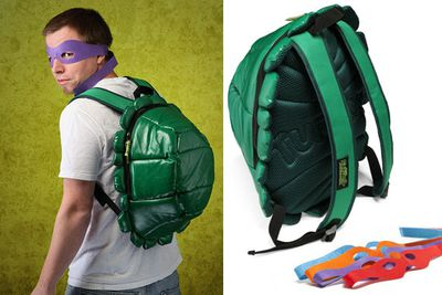 <i>Teenage Mutant Ninja Turtles</i> backpack.<br/><br/>(Image: ThinkGeek.com)