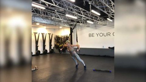 Roxy Jacenko shares morning workout