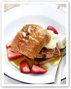 Dessert hot cross buns