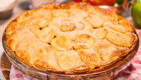Butterscotch apple pie
