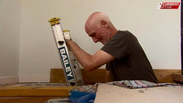 Man stuck using ladder to get to bed after home-building nightmare