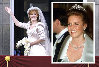 Sarah Ferguson marries Prince Andrew, July, 1986