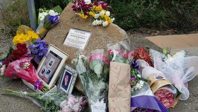 Natalie Russell's memorial