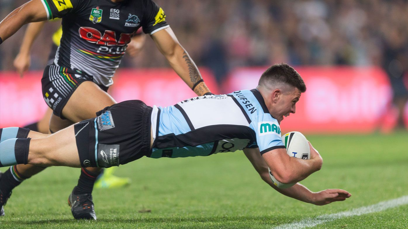 The Sharks made a flying start in their NRL semi final against Penrith