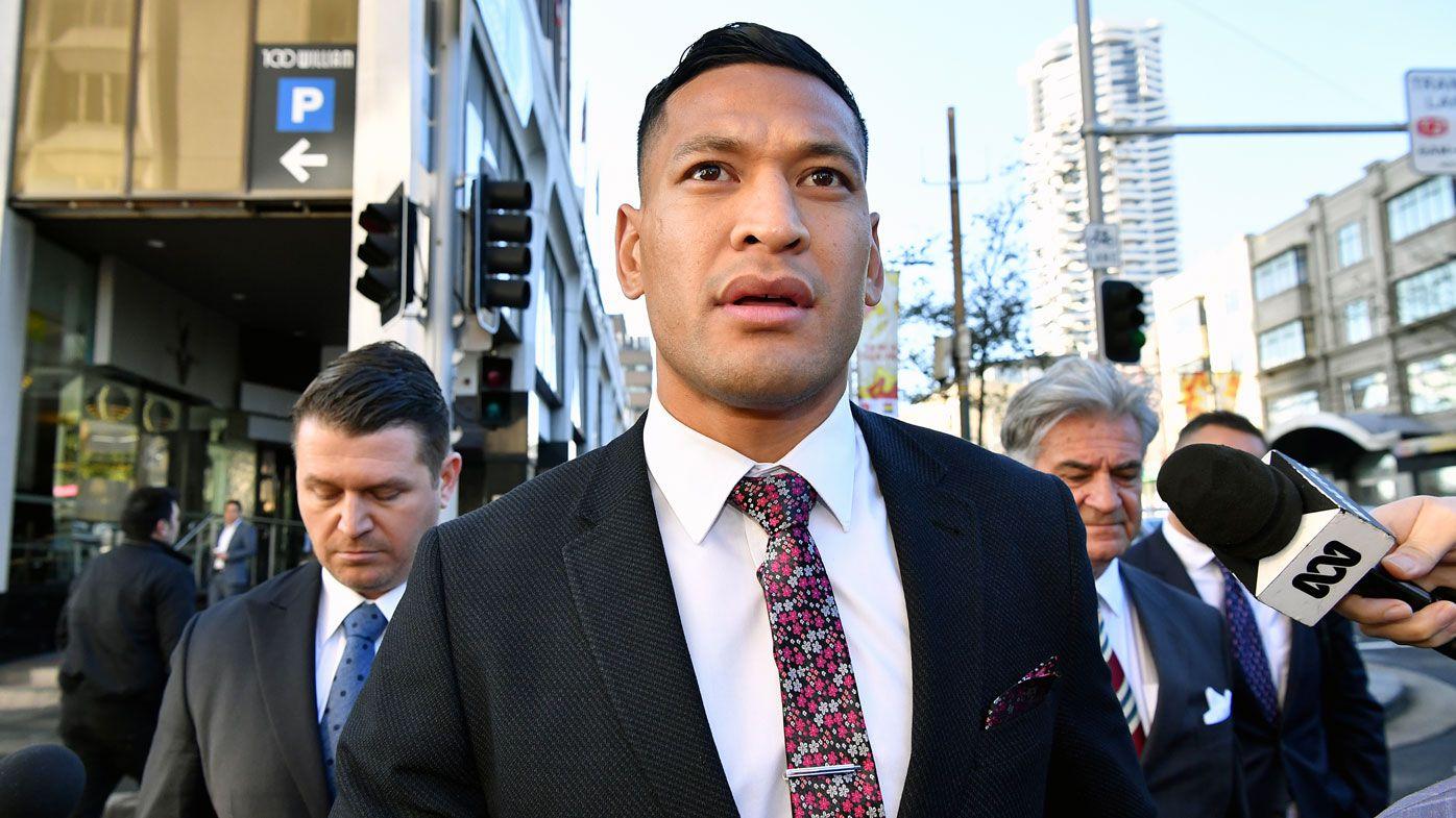 Rugby Australia, Israel Folau fail to reach settlement over sacking