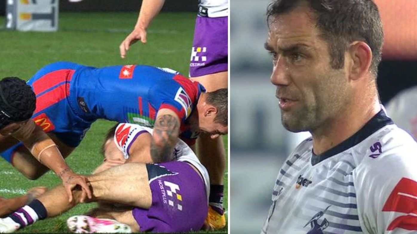 Storm hand Knights their first NRL loss of 2020, Cam smith fumes at ref