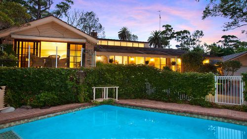 Described as an 'elegant family sanctuary' on a 2017 real estate listing, the Northern Beaches property fetched $2.4 million in sale.