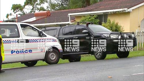 Police arrested Mr Lutgenau following a tense standoff and negotiation with Police on the Gold Coast.