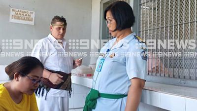 First pictures of Renae Lawrence ahead of Bali Nine member's release