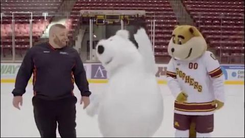 Mascot's repeated slips up unbearable