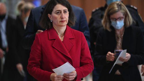 NSW Premier Gladys Berejiklian and Dr Kerry Chant
