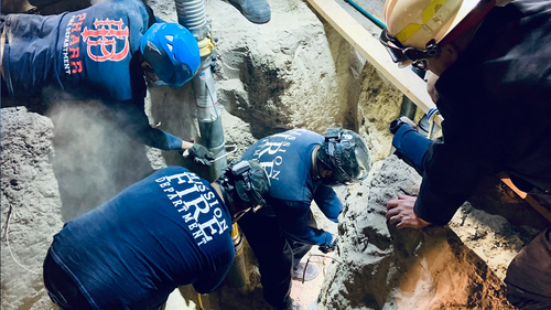 'Christmas miracle': Four-year-old  rescued from well after painstaking rescue mission