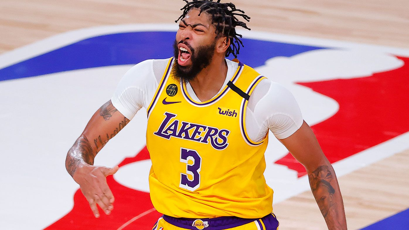 Lakers big-man Anthony Davis signs new $256 million dollar deal