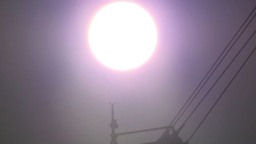 Thousands are currently without power amid the searing heat.