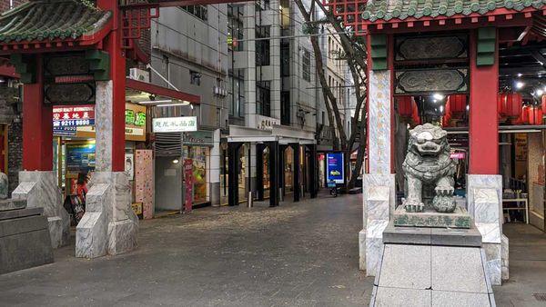 Deserted Chinatown in Sydney amid coronavirus panic