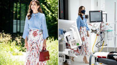 Princess Mary opens Herlev Hospital, June 2 2021