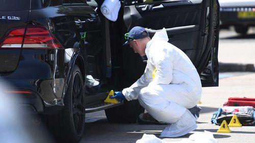 Hawi was in his Mercedes 4WD when he was shot dead. (AAP)
