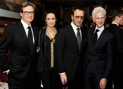 Tom Ford, Richard Buckley, Colin Firth and Livia Firth 2013.