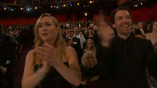 Kate Winslet was among the attendees reduced to tears during the segment.