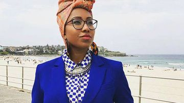 Yassmin Abdel-Magied has been forced to delete a Facebook post after it was deemed 'disrespectful'. (Facebook)
