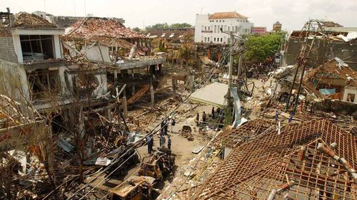 The attack on in the tourist district of Kuta killed 202 people including 88 Australians.