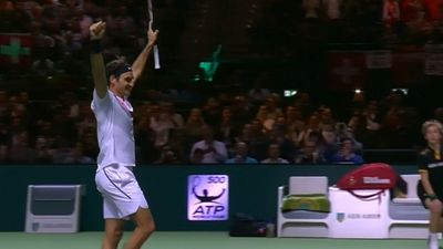 Swiss tennis champion Roger Federer wins Rotterdam Open for title No.97