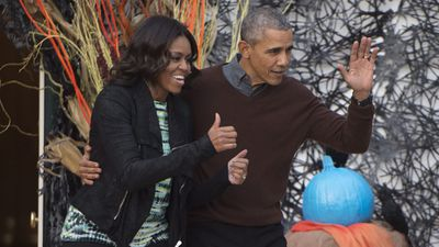 <p>Barack and Michelle Obama have welcomed families to the White House for a Halloween party. </p><p>Guests dressed up in their spookiest attire for the presidential trick-or-treat. </p><p><strong>Click through for images from the event. </strong></p>
