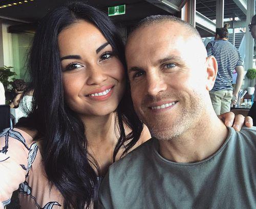 Yasmin McAllister and her husband Aaron McAllister. (Source: Instagram)