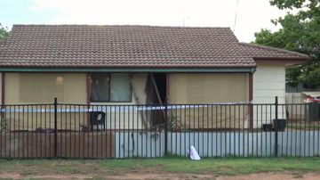 It's understood the two men were involved in a violent confrontation. (9NEWS)