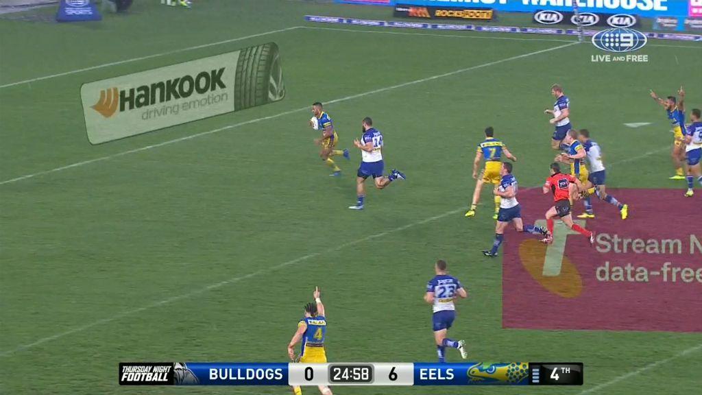 Bevan French extends Parramatta's lead