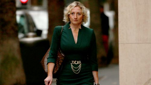 One of Ben Roberts-Smith's solicitors, Monica Allen.