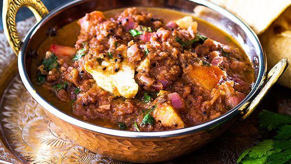 Grandma's meen kulambu (fish curry)