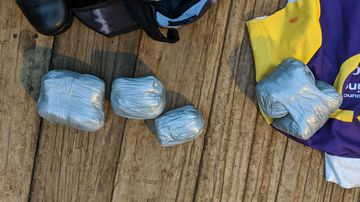 Men 'attempting to smuggle drugs' rescued after becoming stranded