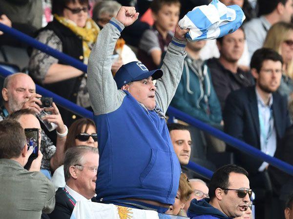 Diego Maradona. (AFP)