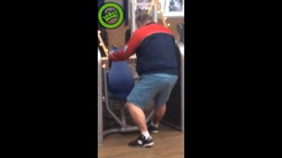 <p>Is it really so hard to take a quick look at the instructions?</p> <p> A man has been filmed by a flabbergasted gymgoer using a piece of equipment not even close to how it is intended. </p> <p> Rather than sitting comfortably in the typical seated bench press position and pressing forward, the middle aged man faces it, slumps awkwardly and pulls the grips towards him in quick, jerky movements. </p> <p> The footage appeared on website Dumpert on Monday, and is the newest addition to the fitness fails hall of shame. </p> <p> Take a look through for more. </p> <p> </p>