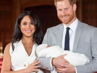 Meghan Markle Archie Harry