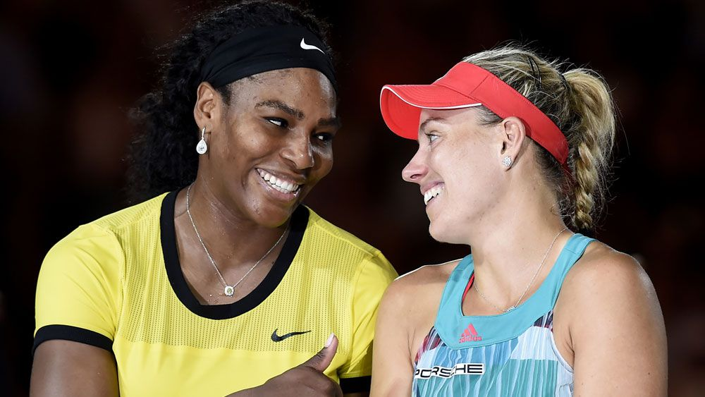 Williams salutes Open queen Kerber