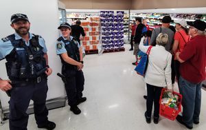 Australian shoppers were the quickest panic buyers in the world, researchers say